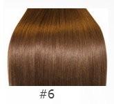 натуральные волосы для наращивания русые от 60 см интернет-магазине